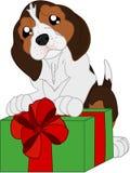 Perro del beagle de la historieta stock de ilustración