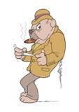 Perro del gángster Foto de archivo libre de regalías