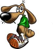 Perro del vector Imagen de archivo libre de regalías