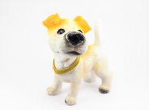 Perro del yeso Imagenes de archivo