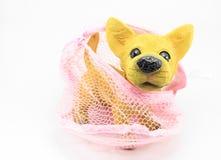 Perro del yeso Imagen de archivo libre de regalías