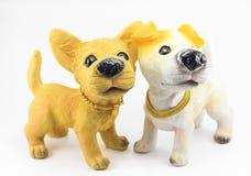 Perro del yeso Fotografía de archivo libre de regalías