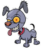 Perro del zombi Imagen de archivo libre de regalías