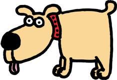 Perro loco libre illustration