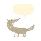 perro retro del baile de la historieta Imagen de archivo libre de regalías