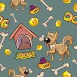 Perro texturizado Foto de archivo