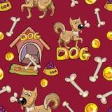 Perro texturizado Imagen de archivo libre de regalías