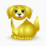Perro - un símbolo del Año Nuevo Imagenes de archivo