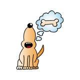 Perro (vector) Imagen de archivo libre de regalías