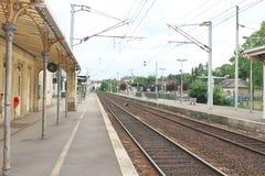 Perron provincial railway station. Stock Image