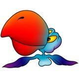 Perroquet bleu Images stock