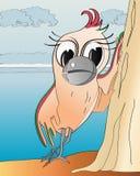 Perroquet gai Illustration de Vecteur