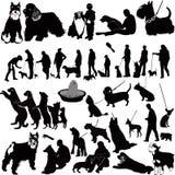 Perros Fotografía de archivo