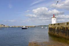 Perros-Guirec港在法国 免版税图库摄影