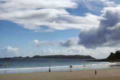 Free Perros-Guirec (Brittany, France): Beach Stock Image - 69404551
