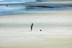 Perros-Guirec (Brittany, France): beach Stock Photos