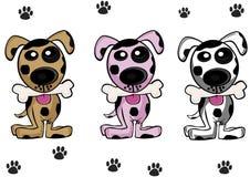 Perros lindos Imagen de archivo libre de regalías
