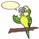 Perruche et parler mignons illustration libre de droits