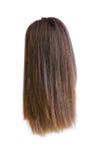 Perruque de cheveu d'isolement Images stock