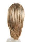 Perruque de cheveux au-dessus de la tête de mannequin Photos libres de droits