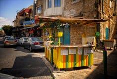 Perruque multicolore vide Image stock