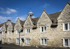 Perry and Dawes Almshouses, Wotton-under-Edge, Royalty Free Stock Photos