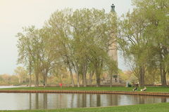 Perry Monument royalty-vrije stock fotografie