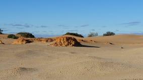 Perry Sandhills wentworth NSW Αυστραλία Στοκ Φωτογραφίες