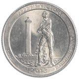 Perrys Victory Ohio commemorative quarter coin stock image