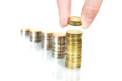 Persönliche Finanzierung. Lizenzfreie Stockbilder
