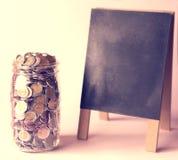 Persönliche Finanztipps Stockfoto