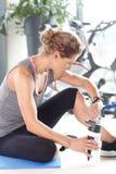 Persönlicher entspannender Trainer Stockbilder