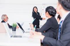 Persönlicher EntwicklungsAusbildungskurs für neues Team lizenzfreie stockfotografie