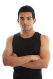 Persönlicher Kursleiter oder Gymnast stockfoto
