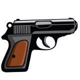 Persönlicher Pistolen-Gewehr-Vektor vektor abbildung
