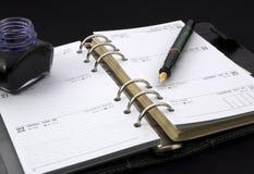 Persönliches Tagebuch Lizenzfreies Stockfoto