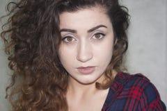 Persönlichkeitskonzept Mädchen attraktiv Lizenzfreies Stockfoto