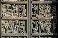 Persecución de cristianos Imagen de archivo libre de regalías