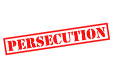 PERSECUTION Stock Photo