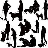 Persegue animais ilustração stock