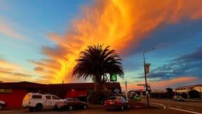 Perseguição do por do sol de Wanaka foto de stock royalty free