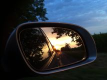 Perseguido no Sun Fotografia de Stock Royalty Free