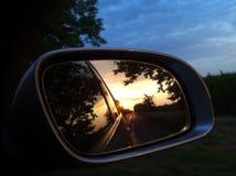 Perseguido por el Sun Fotografía de archivo libre de regalías