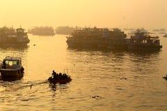 Perseguindo nasceres do sol Foto de Stock Royalty Free