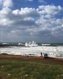 Perseguindo a tempestade Fotografia de Stock Royalty Free