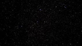 Perseid lluvia de meteoritos agosto de 2016 almacen de metraje de vídeo