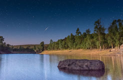 Perseid Meteor Shower Stock Images