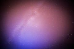 Perseids meteor i milky sposób Obraz Royalty Free