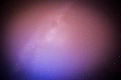 Perseids meteor i milky sposób Obrazy Stock