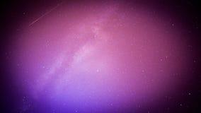 Perseids meteor i milky sposób Zdjęcia Stock